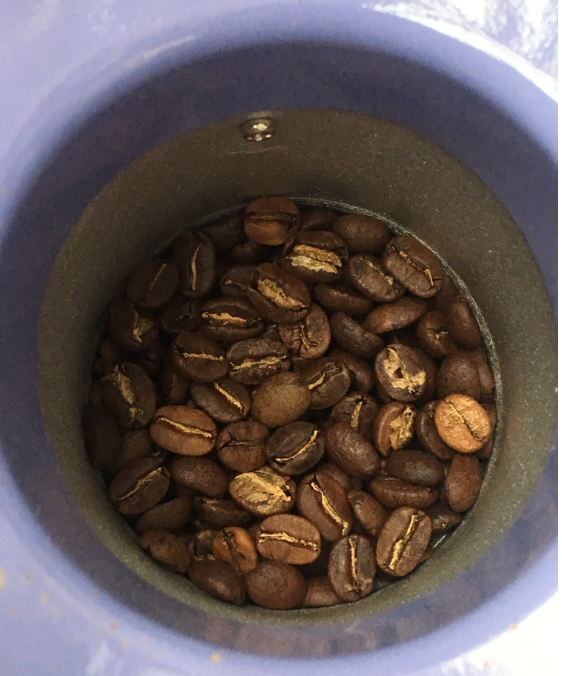 Roasted Coffee with Breville Popcorn Machine
